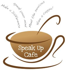 speak up cafe logo