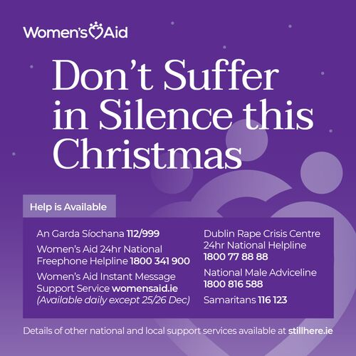 Domestic Violence Help Over Christmas and New Year 2020